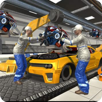 Build A Car >> Auto Car Builder Car Mechanic Simulator 2018 Be Expert Car Maker In Build A Car Games Do Car Making Car Designing Car Tuning Activities In Muscle