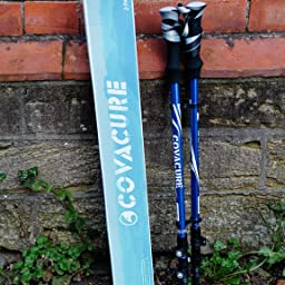 Hiking Sticks//Walking Poles with Quick COVACU Nordic Walking Trekking Poles