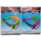 """The Spotted Moose 2 Pack Pool Noodle Sling/Lounge Chair - Pool 18"""""""