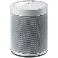 YAMAHA MusicCast 20 – Enceinte bluetooth 40W – Système audio Multiroom, Wifi, Airplay – Baffle maison – Compatible avec smartphones et ordinateurs – Blanche