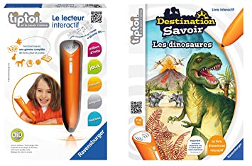 Ravensburger Lot Lecteur Interactif Tiptoi Livre Tiptoi