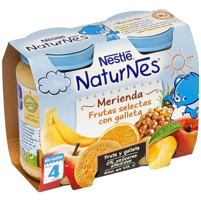 NESTLÉ Bolsita de puré de frutas con galleta, variedad Naranja Plátano y Galleta, para bebés a partir de 6 meses: Amazon.es: Amazon Pantry