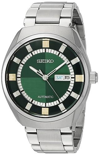 Japonés automático de la Serie Seiko Recraft de los Hombres del Vestido de Acero Inoxidable Reloj