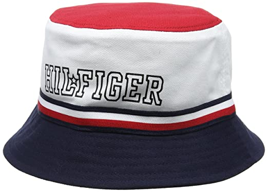 9648f268213d41 Tommy Hilfiger Baby Hilfiger Star Reversible Bucket Cap: Amazon.co.uk:  Clothing