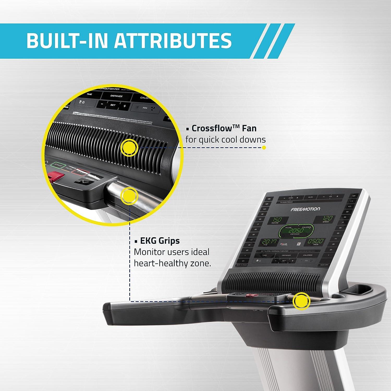 FreeMotion T10.9 Reflex - Molinillo de Correr: Amazon.es: Deportes ...