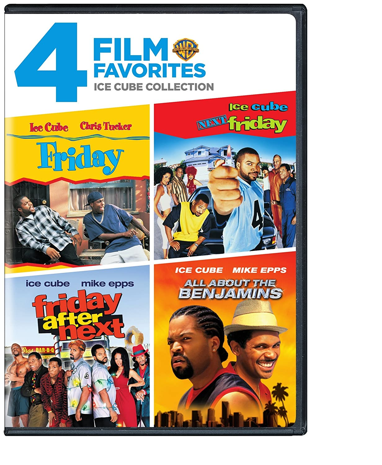 Amazon.com: 4 Film Favorites: Ice Cube (All About the Benjamins ...
