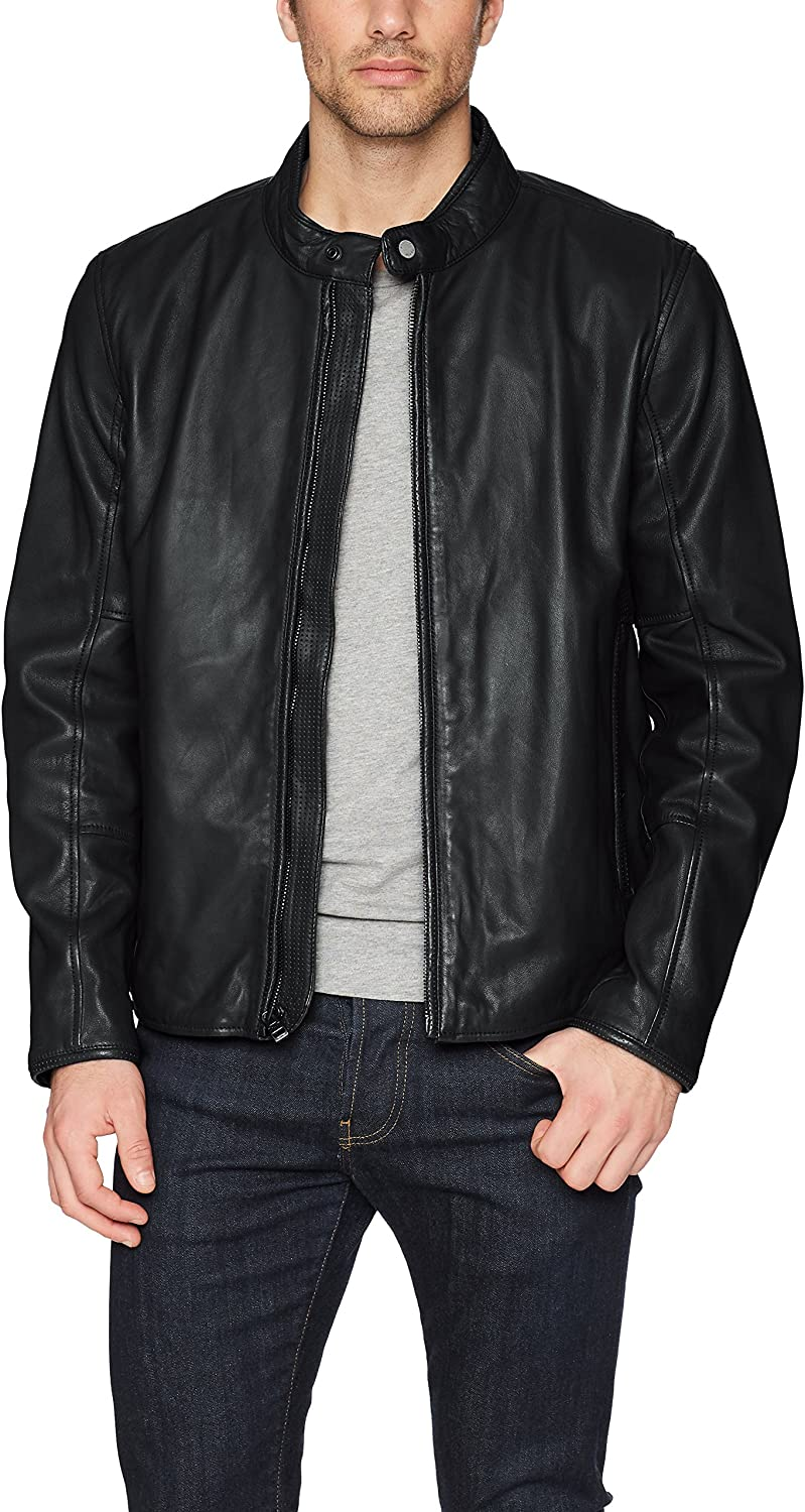 Marc New York by Andrew Marc Mens Horace Open Bottom Jacket