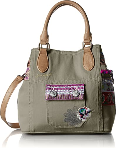 Desigual sac 71x9jc5 florida military deluxe vert Taille