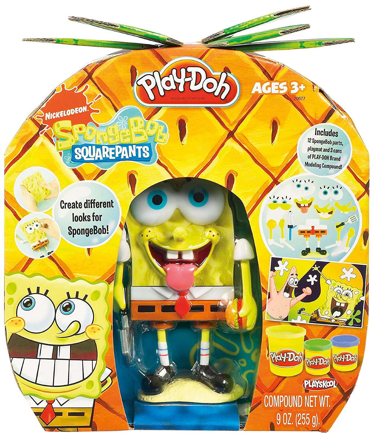 Rare ficial Nickelodeon Hasbro SpongeBob Squarepants Mix & Match