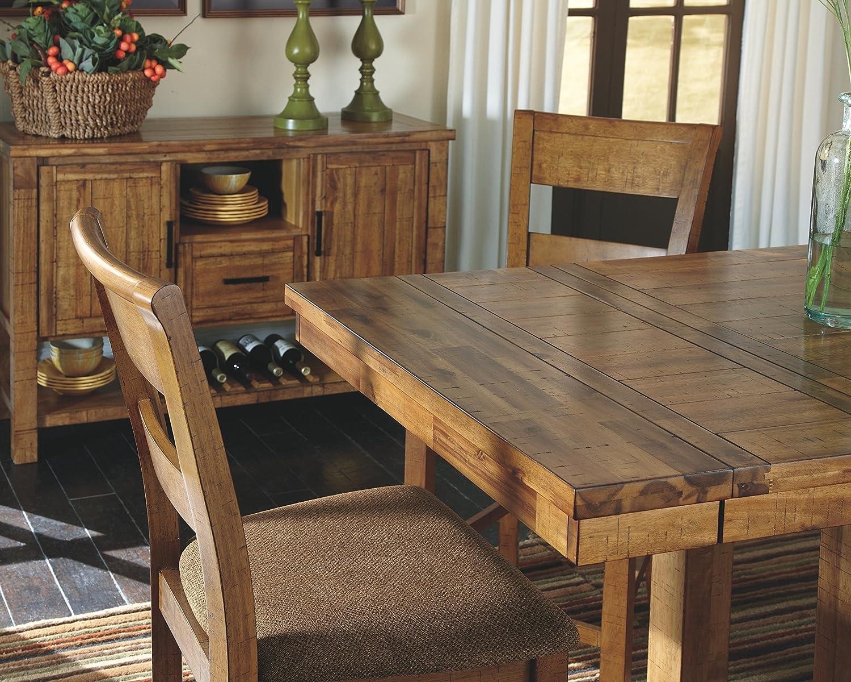 Ashley Furniture Signature Design – Krinden Dining Room Table – Counter Height – Rectangular – Light Brown