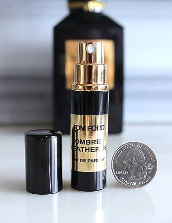 38164aa89889b Amazon.com   Tom Ford Eau de Parfum. Mini Atomizer size 6ml. Unisex (Ombre  Leather 16)   Beauty
