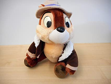 amazon com disney rescue rangers chip n dale plush 9 toys games