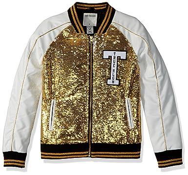 f81c236f3 Amazon.com: True Religion Girls' Sequin Jacket: Clothing