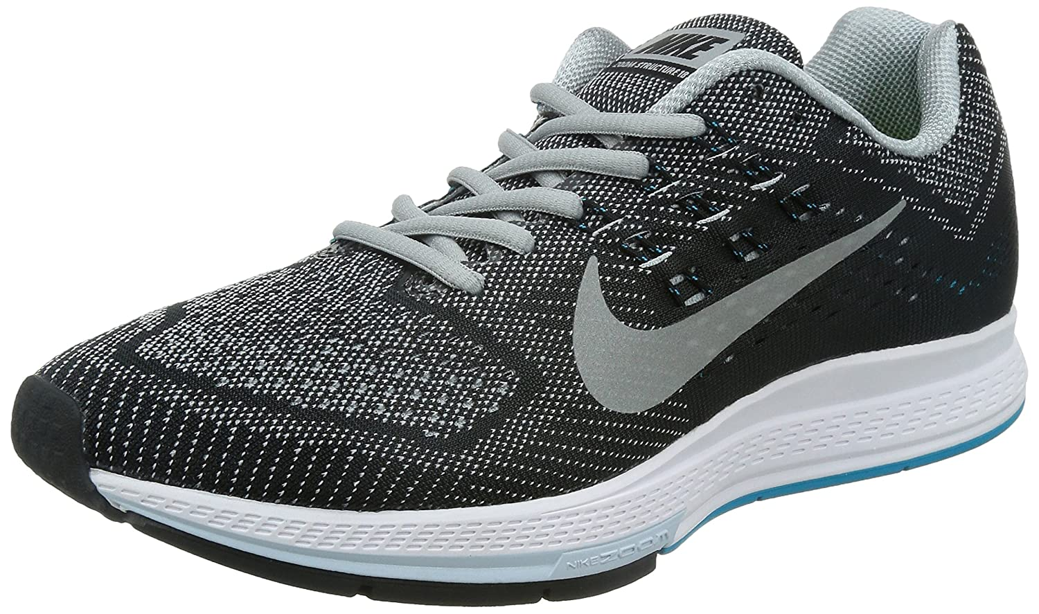 5a9a4982c12f 60%OFF Nike Air Zoom Structure 18 Men s Running Shoes 683731-002 Size 10