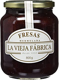 La vieja fábrica - Mermelada de fresas - 350 g - [Pack de 4 ...