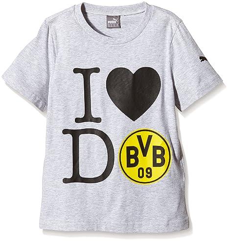 Puma niño-Camiseta de I Love DO tee Gris Gris Talla:176