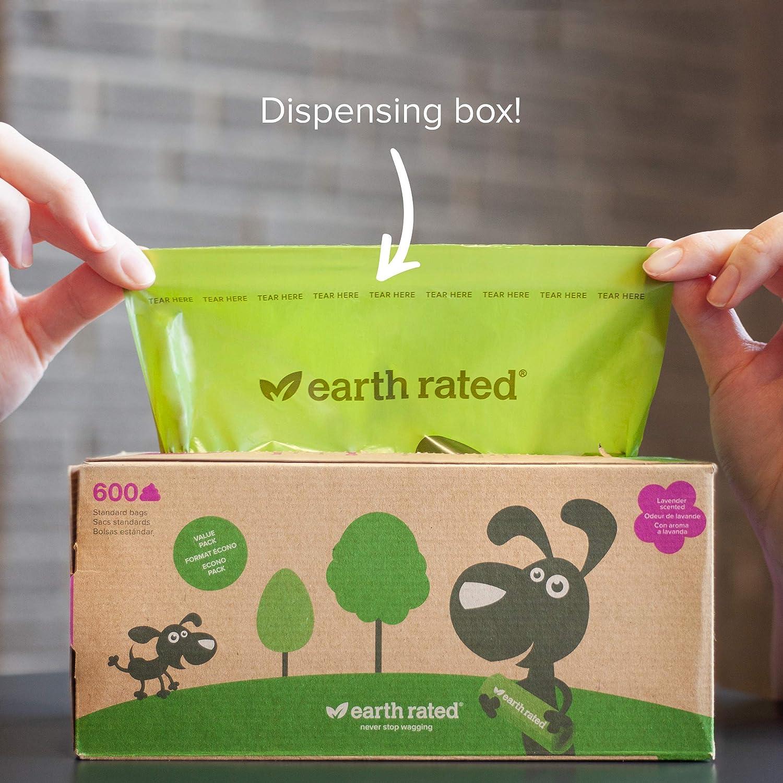 Earth Rated Tierra Nominal Perro Bolsas de residuos para Cocina