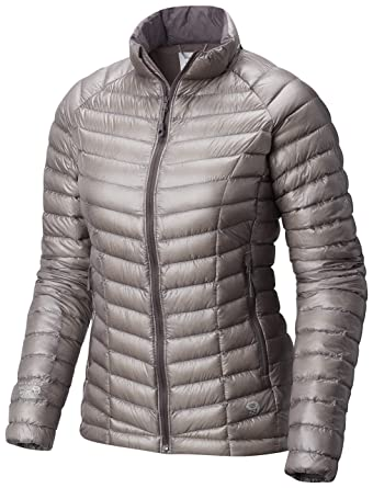 3c9f1a678 Mountain Hardwear Womens Ghost Whisperer Insulated Down Water Repellant  Jacket, Non-Hood -Mystic Purple - XL