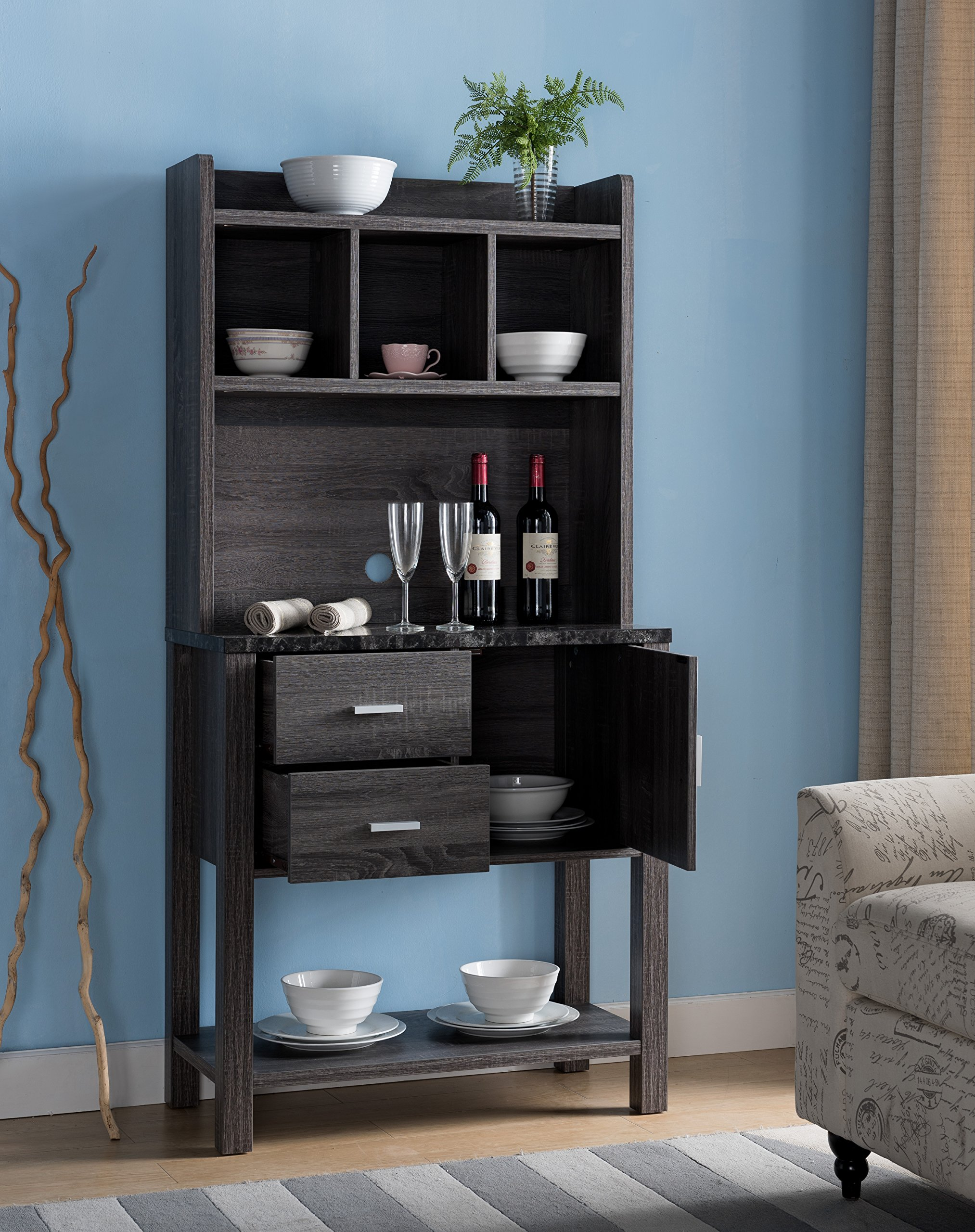 Smart home 161891 Baker's Rack (Two-Tone Finish) by Smart home (Image #2)