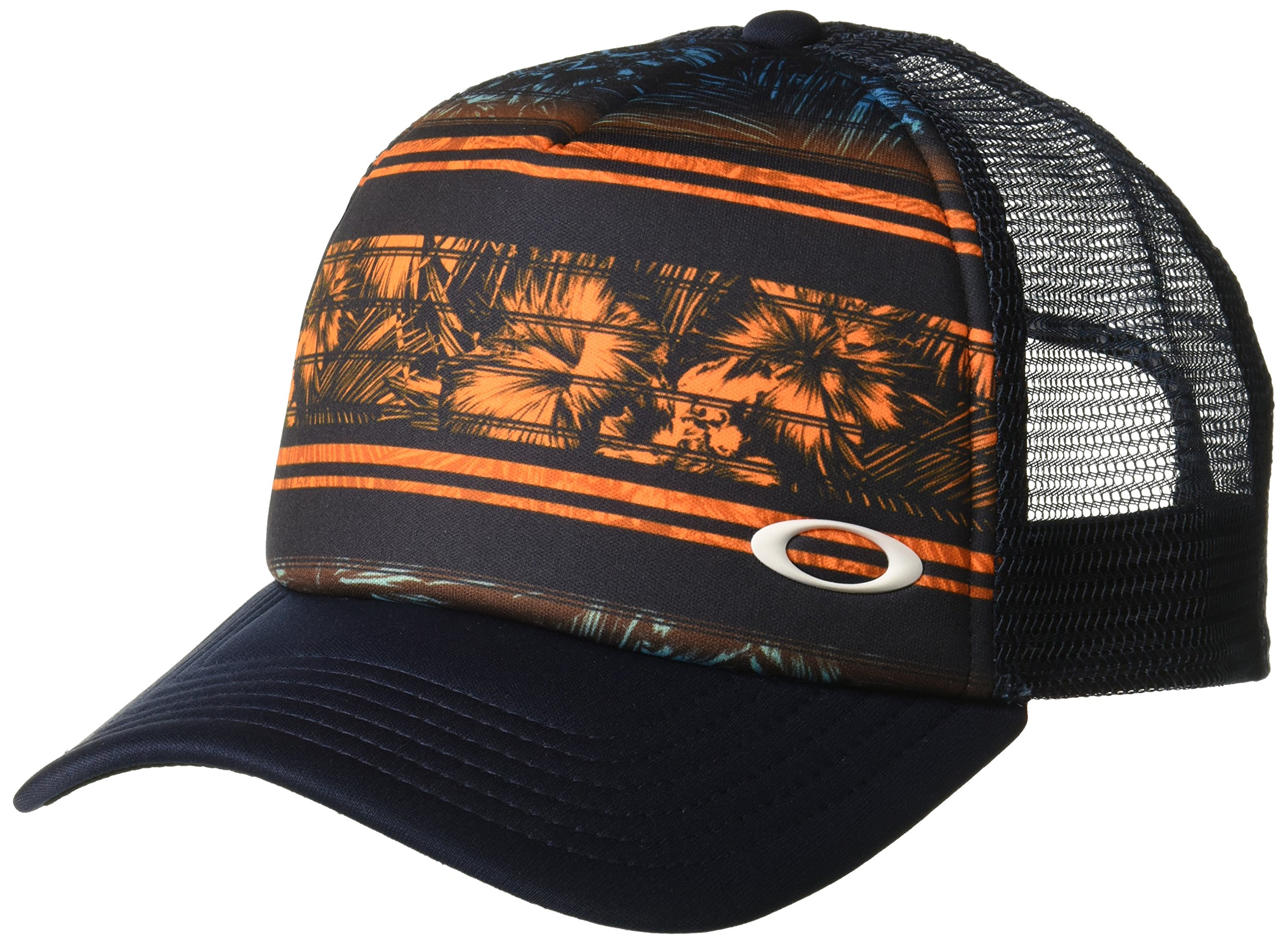 new style a85e4 79122 Galleon - Oakley Men s Mesh Sublimated Trucker Hat, Neon Orange, One Size Fits  All