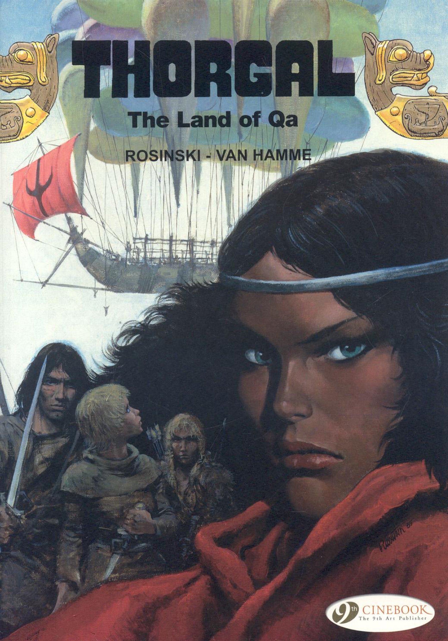 Read Online The Land of Qa (Thorgal) pdf epub