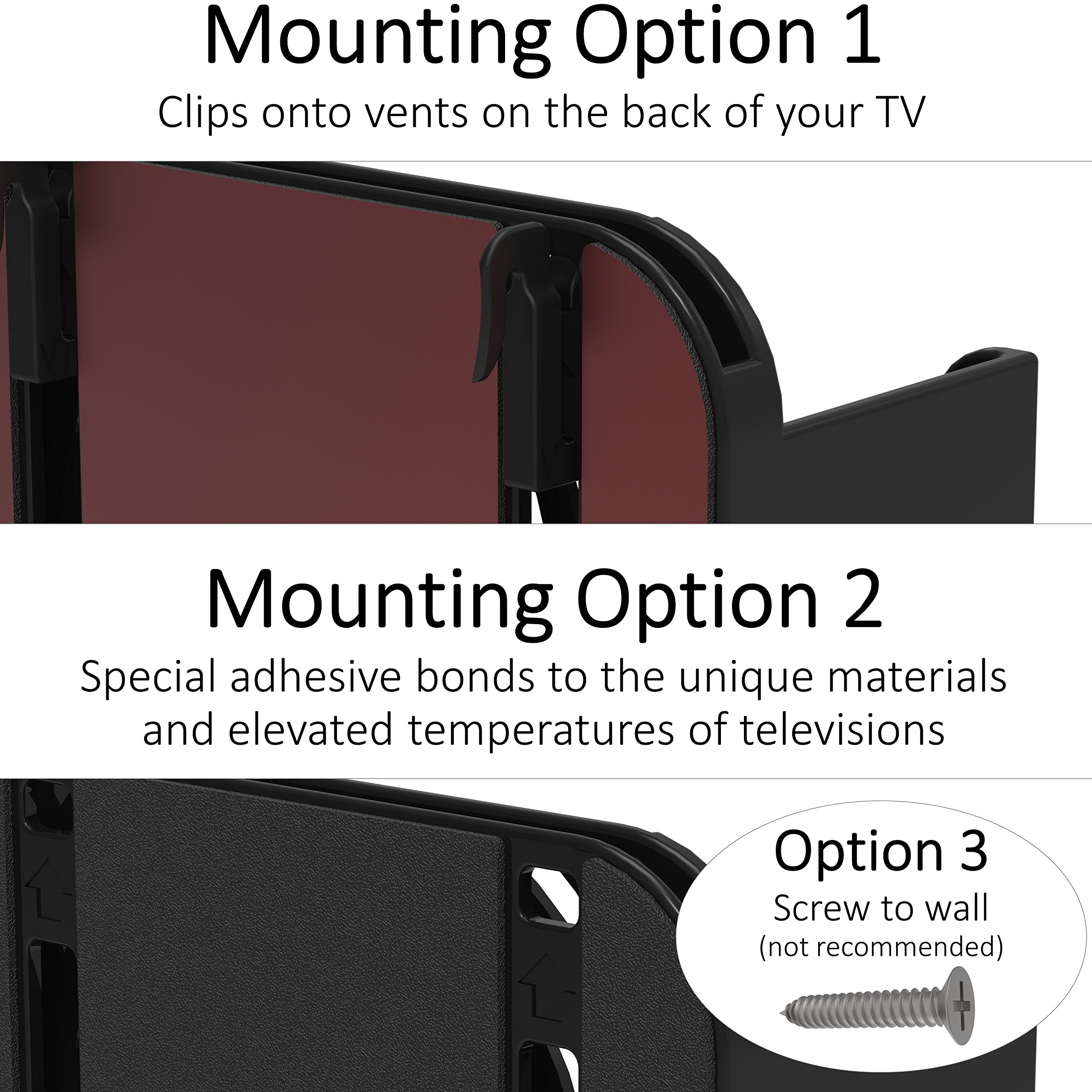 TotalMount Apple TV Mount - Compatible with all Apple TVs including Apple TV 4K by TotalMount (Image #6)