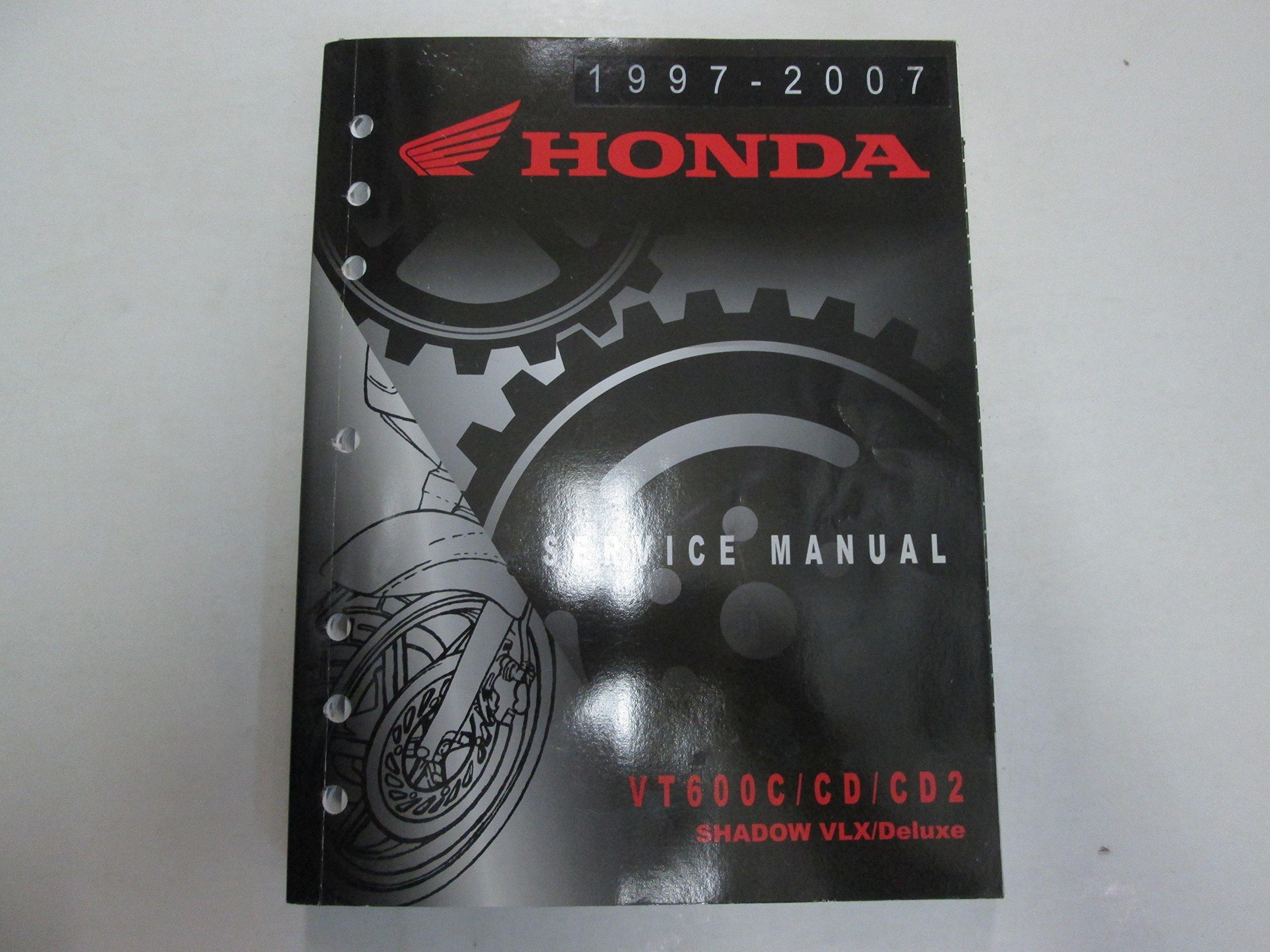 1997 2007 Honda Vt600ccdcd2 Shadow Vlx Deluxe Service Repair