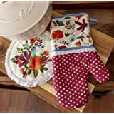 The Pioneer Woman Willow Oven Mitt and Pot Holder Set 2017 Fall Collection