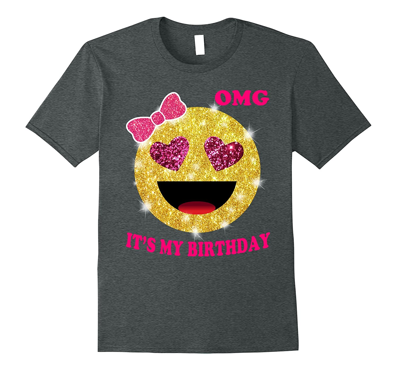 Its My Birthday Emoji T-shirt-Vaci