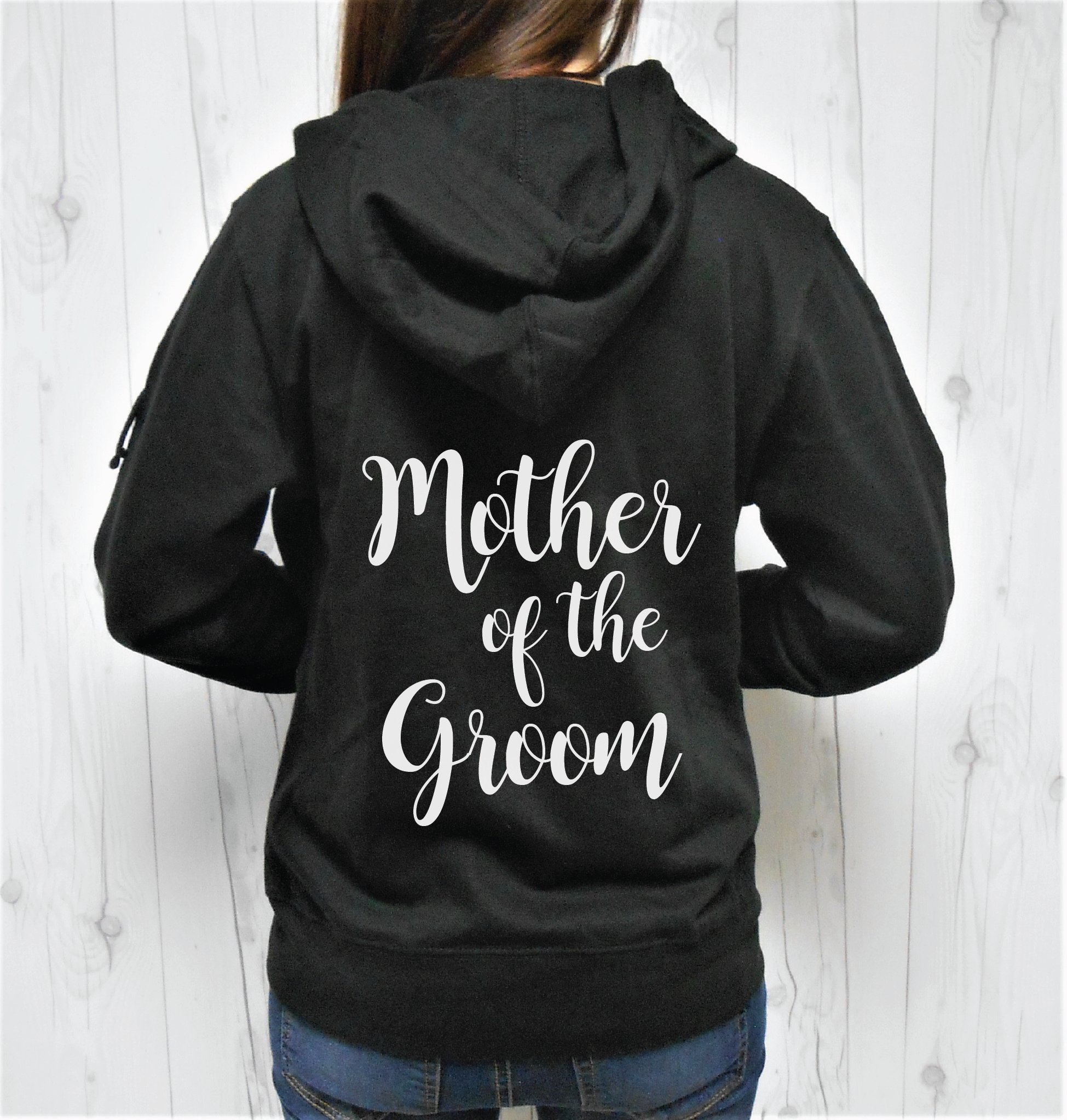 SGC Women's Mother of the Groom Hoodie, Mother of the Groom Zip-Up, Mother of the Groom Jacket, Wedding Hoodies, Bridal Hoodies