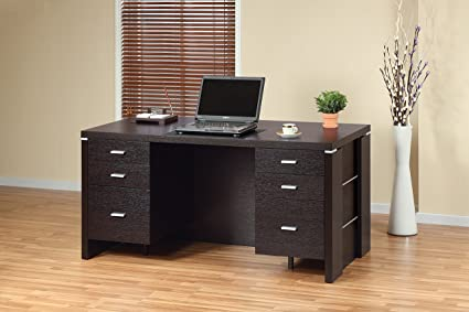 Smart Home 10326 60u0026quot; Wide Home Office Executive Desk