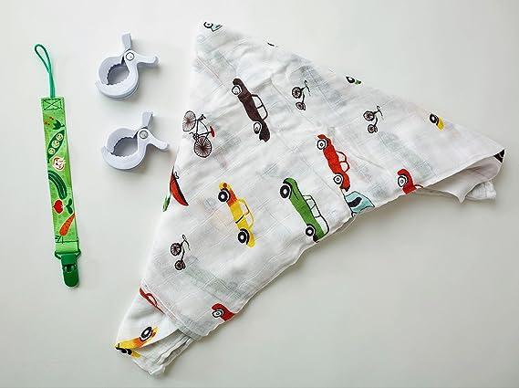 Juego de 4 piezas de manta de muselina para bebé, diseño ...