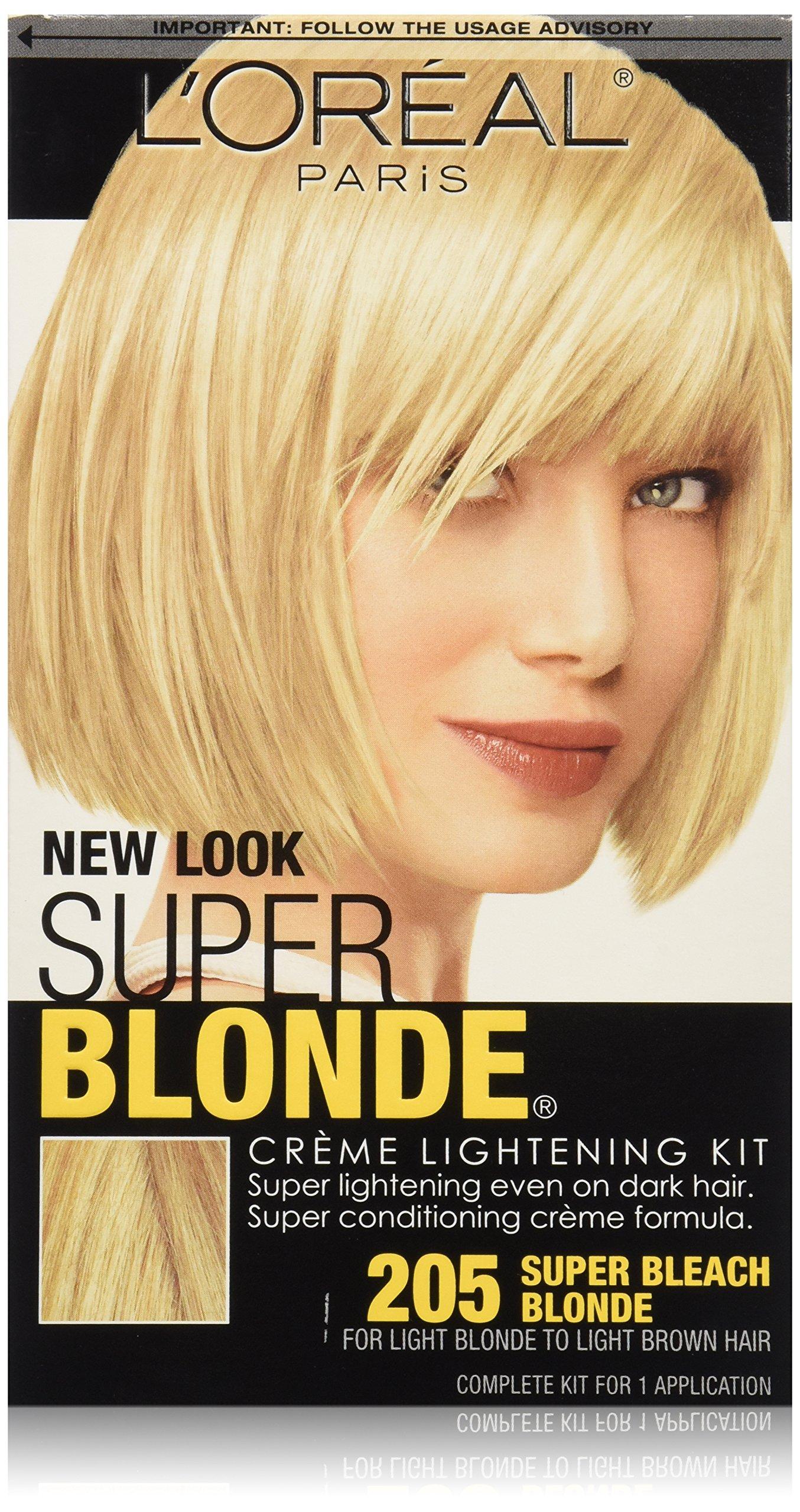 Amazon Com L Oreal Paris Super Blonde Creme Lightening Kit 205
