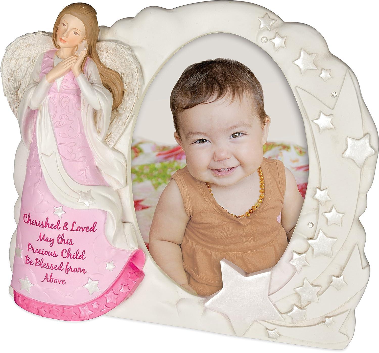 Girl AngelStar Angel Blessings Photo Frame 13166 7 Inches High