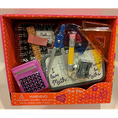 Our Generation Math Whiz 18 Doll Accessories STEM School Supplies: Toys & Games