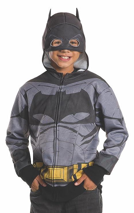 Rubieu0027s Costume Batman v Superman Dawn Of Justice Batman Child Hoodie Large  sc 1 st  Amazon.com & Amazon.com: Rubieu0027s Costume Batman v Superman: Dawn Of Justice ...