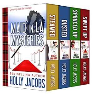 Maid in LA Mysteries: The Complete Four Book Set