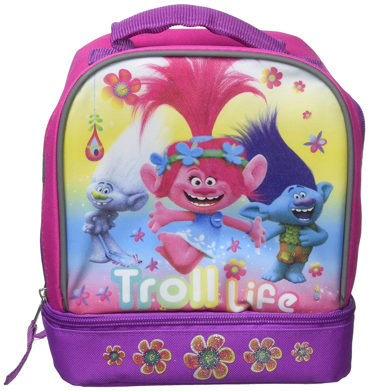 f33f472d1cfe9 DreamWorks Trolls Guy Diamond, Poppy and Branch Troll Life Insulated Lunch  Bag