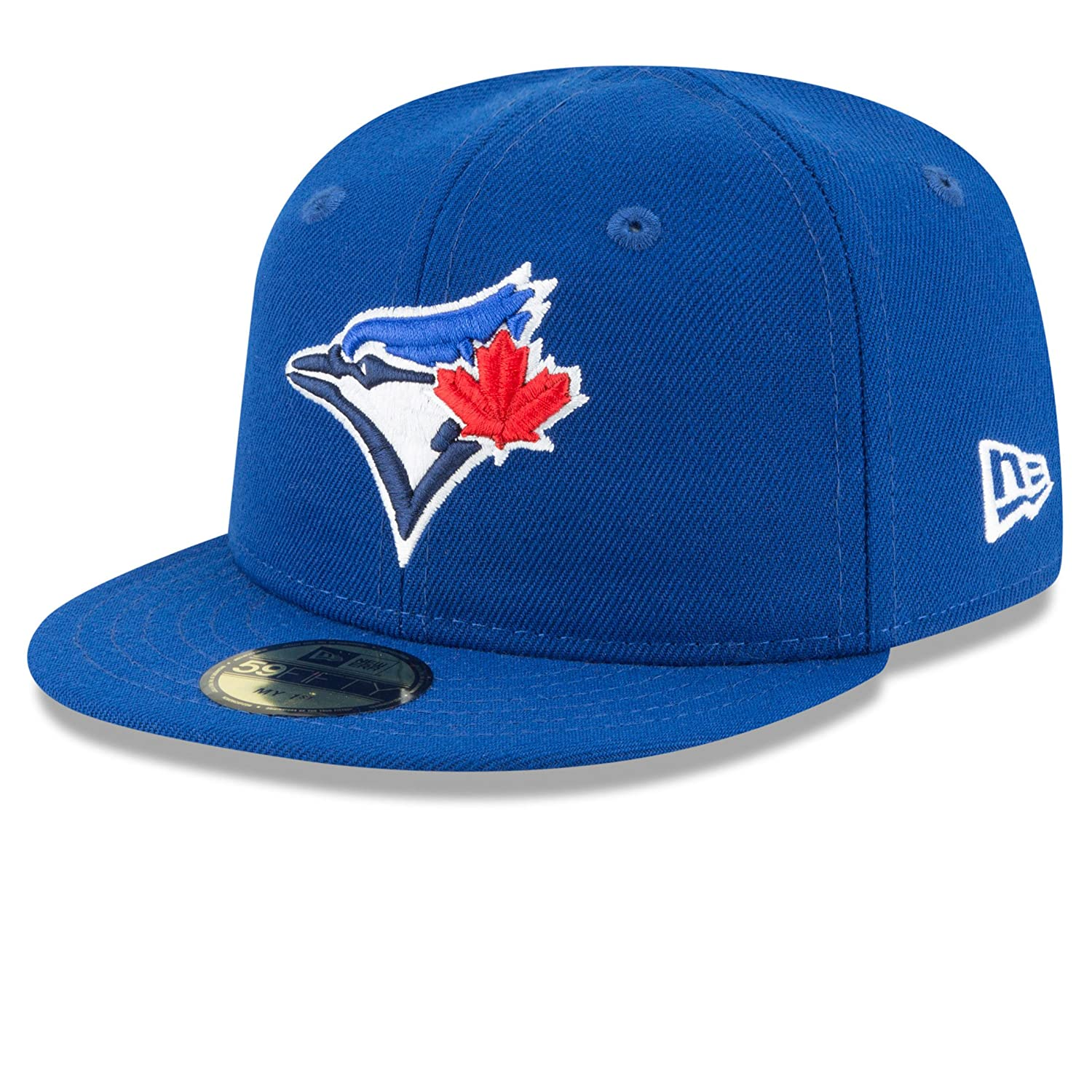 Toronto Blue Jays Infant Authentic Collection On-Field My First 59FIFTY Fitted Hat - Size 6 New Era