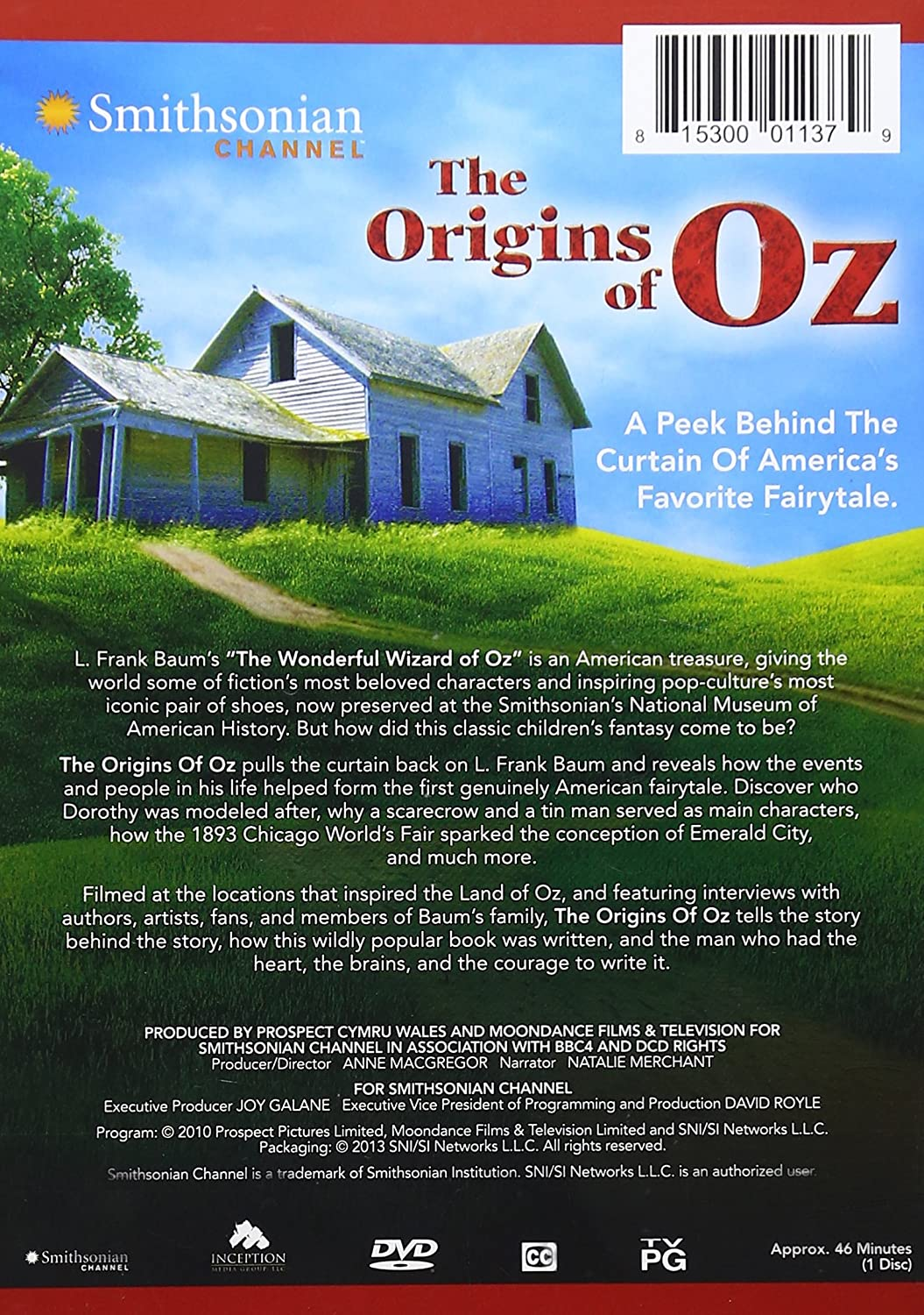 Green curtain oz - Amazon Com Smithsonian Channel The Origins Of Oz Na Anne Macgregor Movies Tv