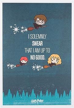 Amazon Com Hallmark Fun Harry Potter Birthday Card Office Products