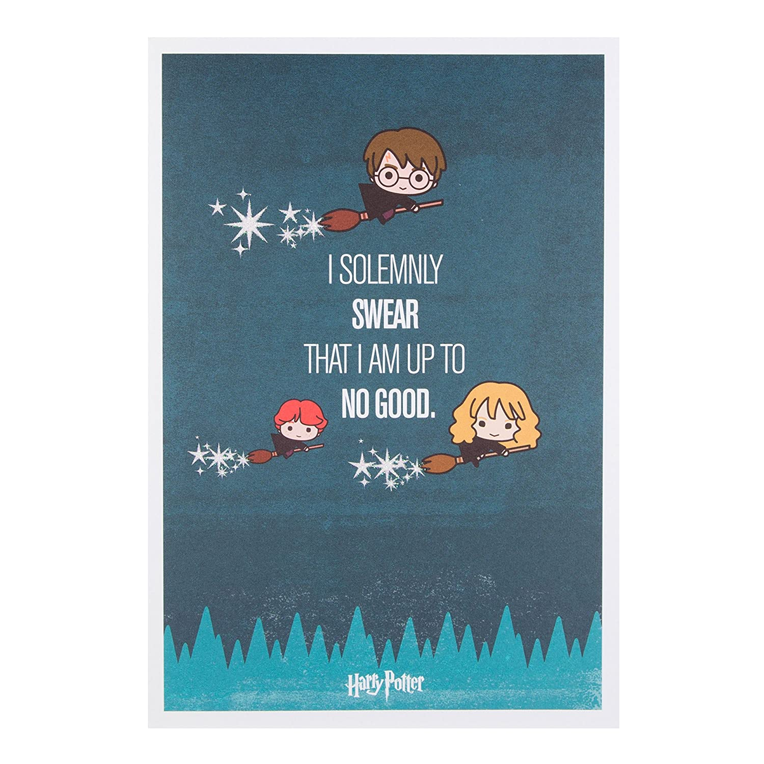 Harry Potter I Solemnly Swear That Am Up To No Good Birthday Card Amazonca Office Products