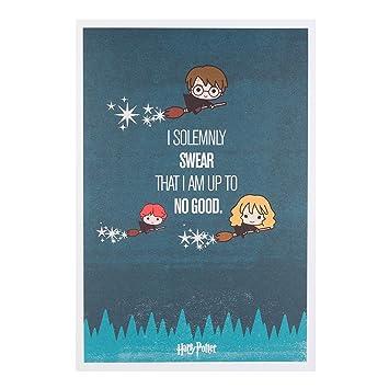 Hallmark Harry Potter Birthday Card QuotFunquot