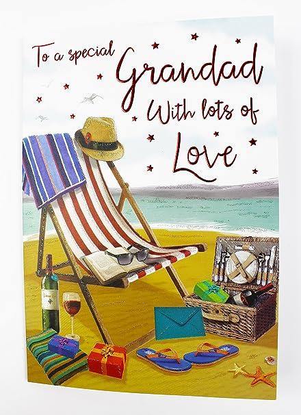 Feliz cumpleaños tarjetas de felicitación abuelo celebración ...