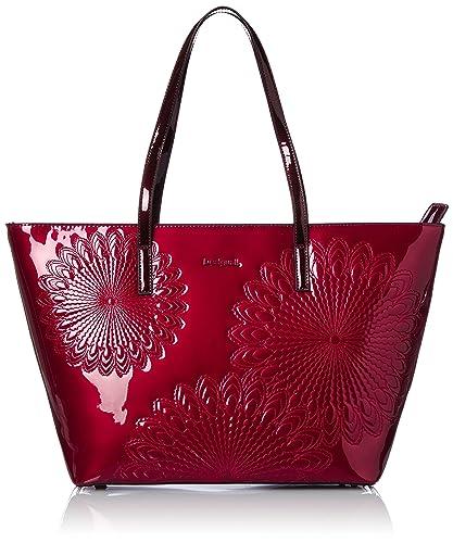 Desigual San Francisco Kate, Damen Tasche, Rot (3005 Rojo Sangre), One