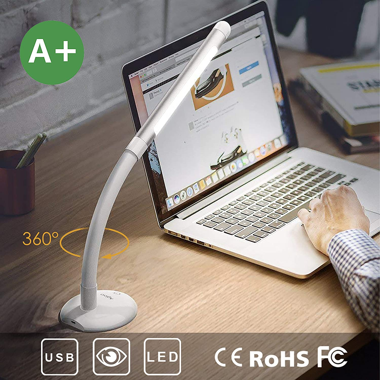 Lámpara de mesa USB Aglaia