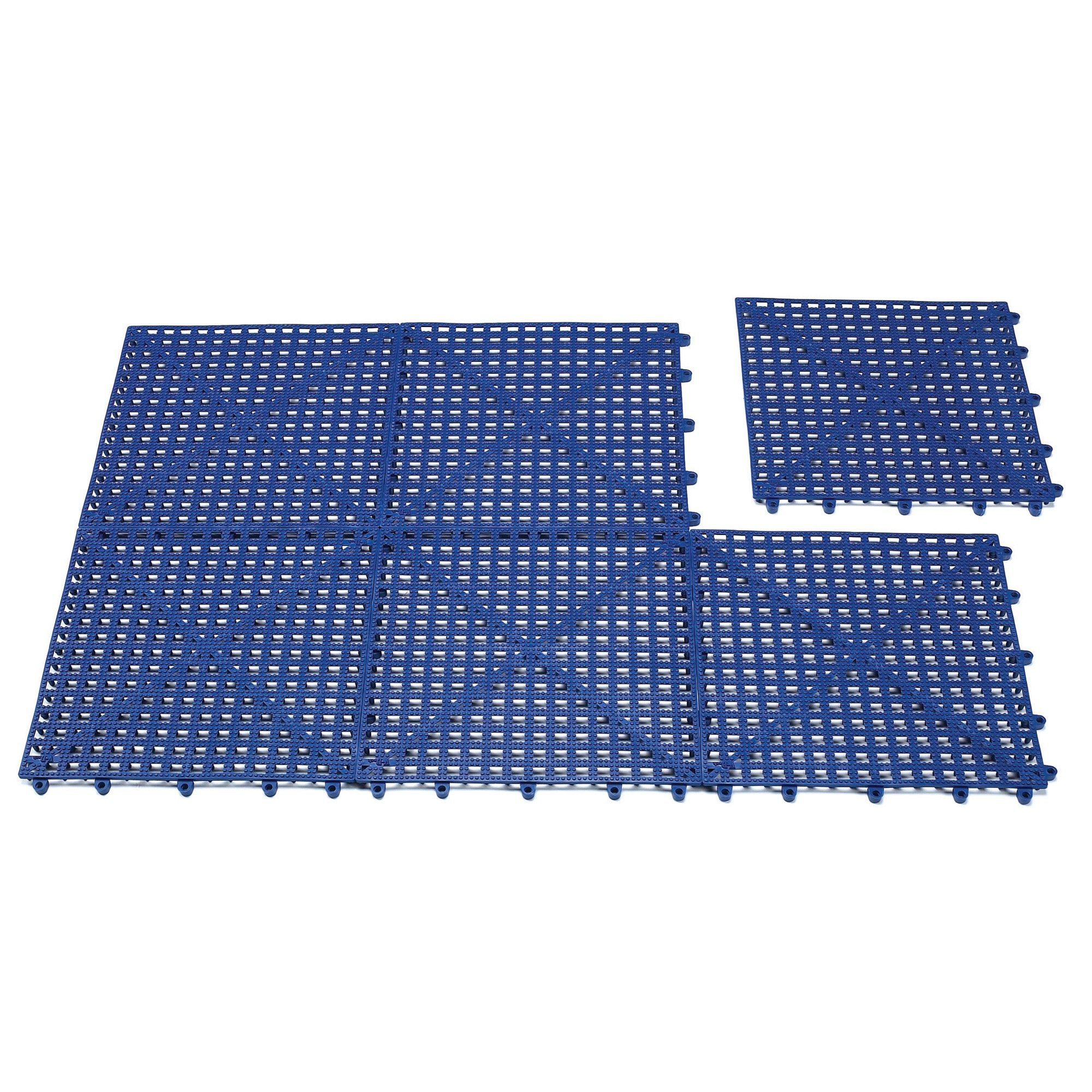 Top Performance  Floor Tiles for Groomers - Padded, Cushioned Floor Tiles Provide Unmatched Comfort and Traction for Professional Pet Groomers Throughout Their Workday, Blue by Top Performance (Image #1)