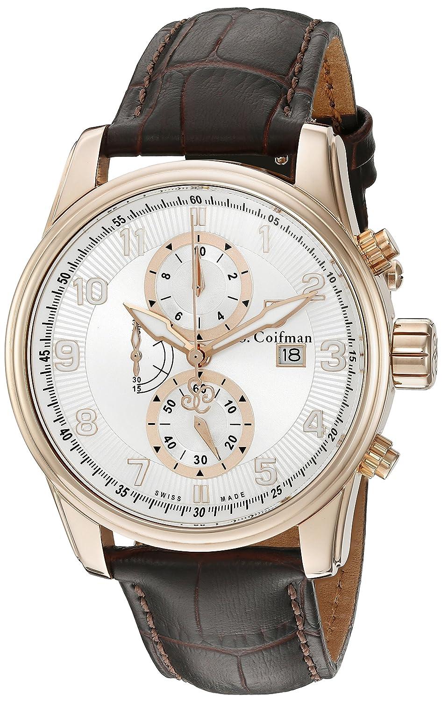 S.Coifman Herren- Armbanduhr Chronograph Quarz SC03 10