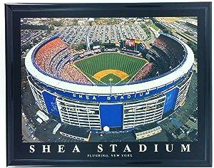 New York Mets Shea Stadium Framed Aerial Photo F7529A