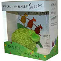 Where is the Green Sheep? Hardback book and plush toy boxed set
